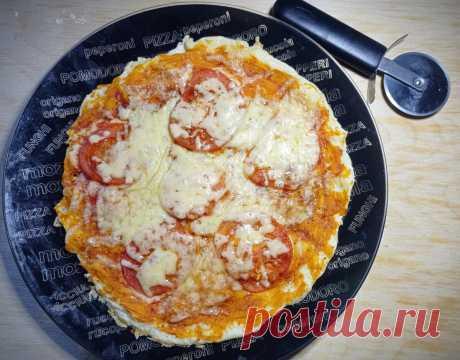 Когда хочется пиццы, а лишних калорий нет, я готовлю её по этому рецепту | Мой маршрут стройности | Яндекс Дзен