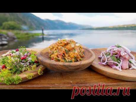 Три блюда от его Величества Енисея. Рыба по-сибирски Сугудай, Чушь, Хе. Я в Красноярске.