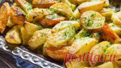 Идеальный картофель, который затмит даже самое вкусное мясо - fav0ritka77.ru Идеальный картофель, запеченный со специями и сыром – это простое и доступное...