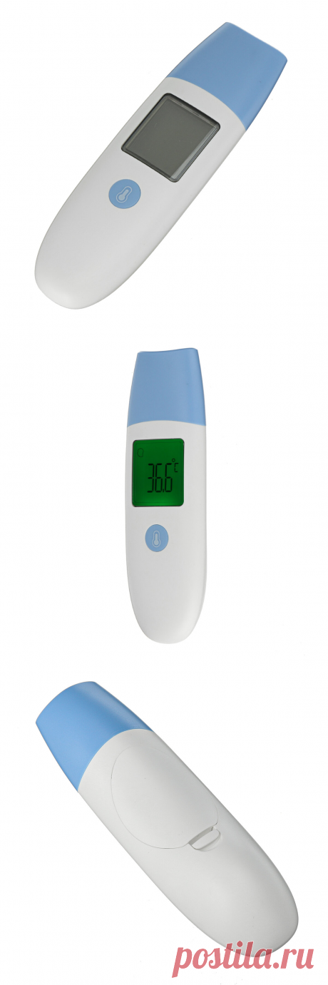 portable digital ir infrared thermometer non-contact forehead body temperature meter at Banggood
