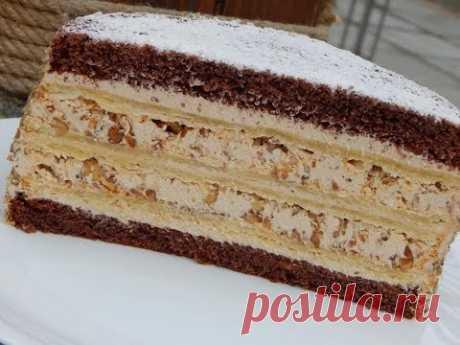 El relleno corrujiente y la crema tierna: la torta KRESCHATYY más impresionante el BARRANCO
