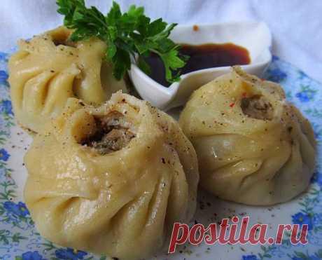 Позы (буузы) – блюдо национальной бурятской кухни.