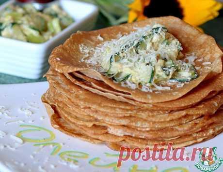 Овощная начинка в стиле Карбонара – кулинарный рецепт