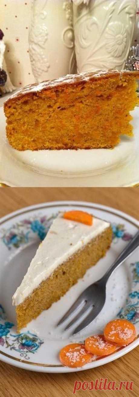Морковные кексы с имбирем и корицей