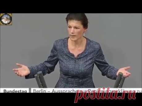 Сара Вагенкнехт vs Ангела Меркель