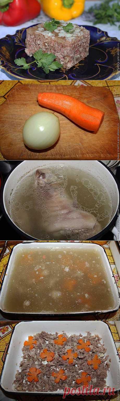 Холодец из свинины и говядины / Рецепты с фото