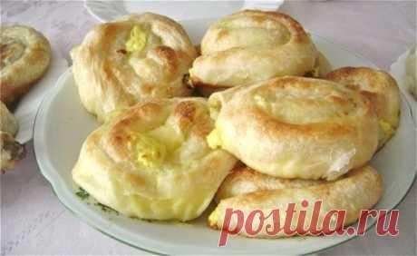 Теплый завтрак по-турецки — су-бурек с сыром