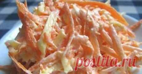 Морковный салат с яйцом — можно даже на ночь! Морковный салат с яйцом — можно даже на ночь! Ингредиенты: Морковь — 4 штук Яйца вареные — 6 штук Чеснок — 1-2 зубчика Сметана — 2 ст. ложек...
