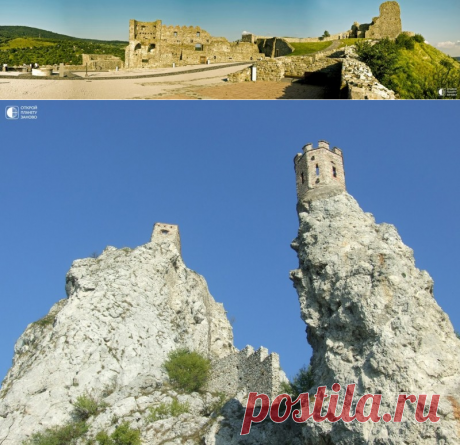 El castillo Devin - el símbolo de Eslovaquia