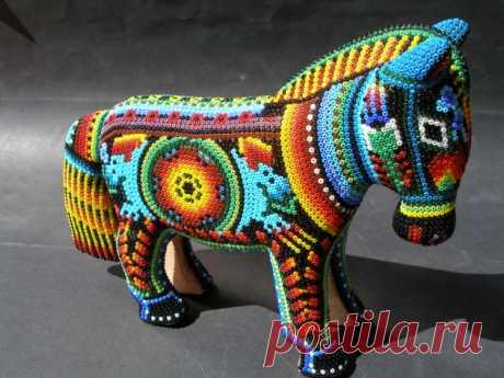 (6) Gallery.ru / Фото #24 - Бусиничные изделия из Мексики - tigerfairy