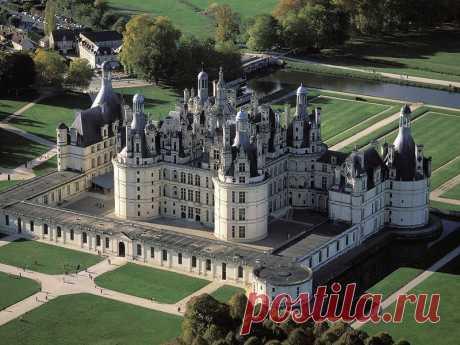 Виртуальное путешествие по французским замкам. Замок Шамбор