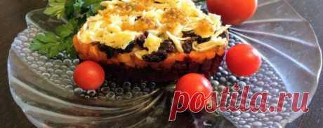 Салат из свеклы - Диетический рецепт ПП с фото и видео - Калорийность БЖУ