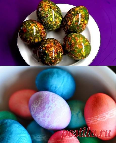 Как необычно украсить пасхальные яйца: 7 крутых идей