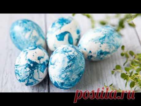 Как ОРИГИНАЛЬНО Покрасить Яйца на Пасху | 3 способа
