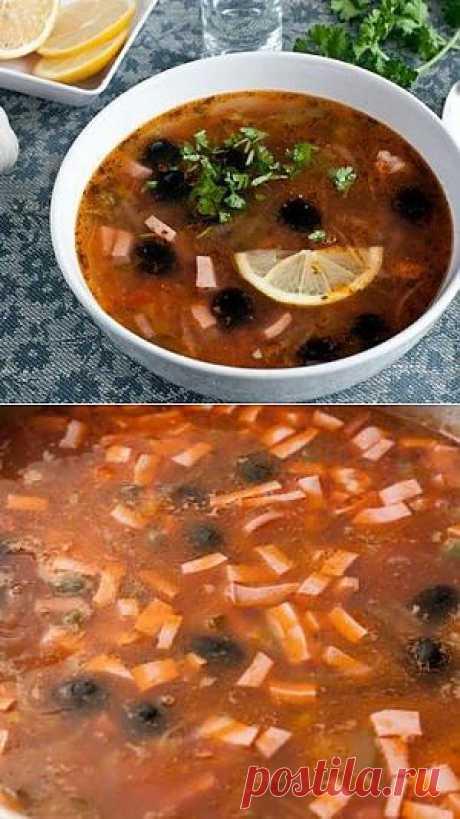 Солянка сборная мясная рецепт с фото - рецепты с фото