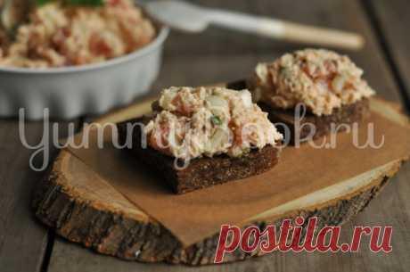 Рийет из красной рыбы - пошаговый рецепт с фото