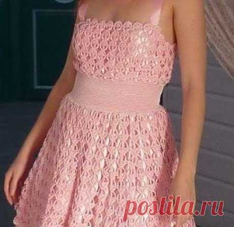 """Перо ангела&quot dress; hook. A beautiful dress for women a hook"