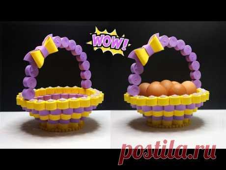 How to make Easter basket ideas ! Keranjang Tempat telur   Tempat permen lebaran