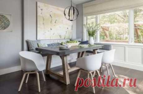 Стол с бетонной столешницей (трафик, Diy) Модная одежда и дизайн интерьера своими руками