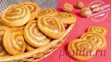 Просто сворачиваю и нарезаю. Песочное ореховое печенье, которое тает во рту | Вкусная кухня. Простые рецепты | Яндекс Дзен