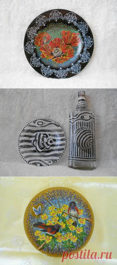 Las obras maestras-punteadas de Irina Rusaevoy
