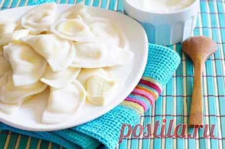 Тесто для вареников с творогом / Простые рецепты