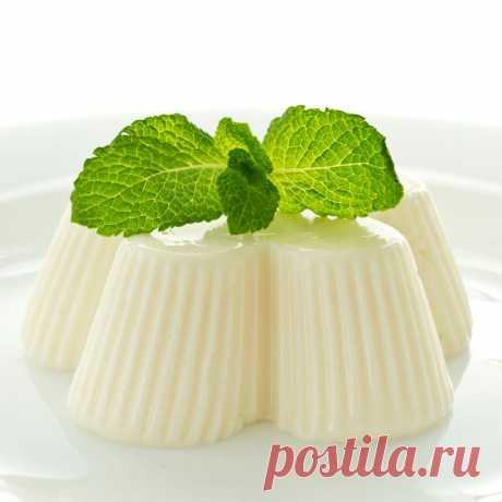 Желе молочное | Самые вкусные кулинарные рецепты