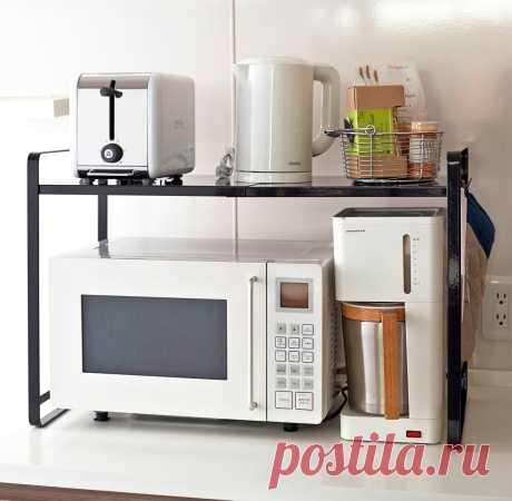 Куда впихнуть микроволновку – варианты ее размещения на маленькой кухне | Oikodomeo | Яндекс Дзен