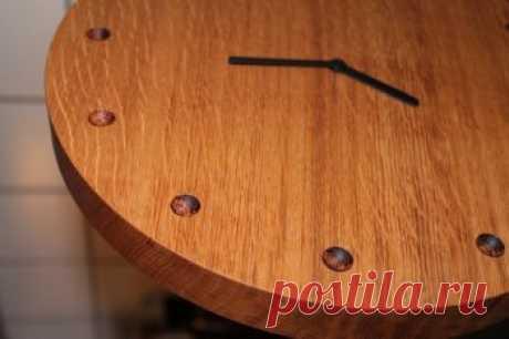 Деревянные часы своими руками — ОчУмелые ручки