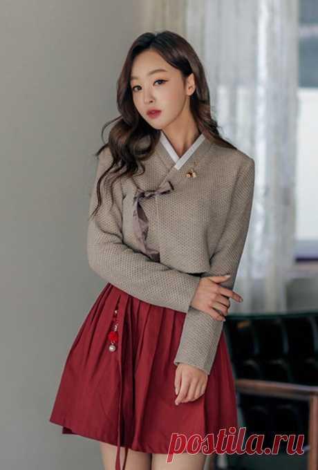 Ханбок – традиционный костюм Кореи и утончённая шёлковая гладь | НЕСКУЧНАЯ ВЫШИВКА | Яндекс Дзен