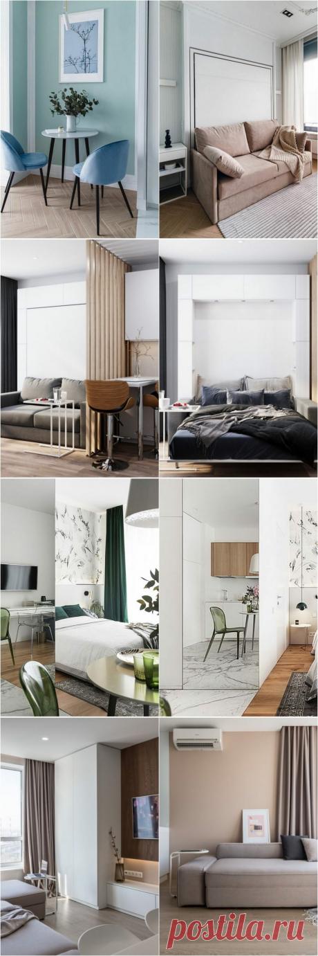 Минимализм: 5 маленьких но действительно стильных студий до 30 м² с типовой планировкой | Architect Guide | Яндекс Дзен
