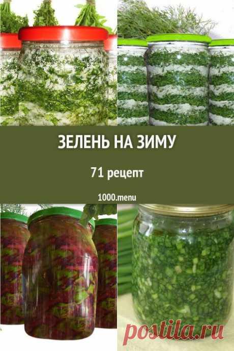 Зелень на зиму - быстрые и простые рецепты для дома на любой вкус: отзывы, время готовки, калории, супер-поиск, личная КК #рецепты #1000menu #кулинария #зелень #заготовки