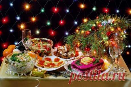 12 вкусных и красивых праздничных блюд на новогодний стол