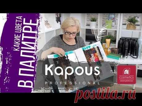 Палитра Kapous. Какие цвета в палитре Капус ? Как читаются цвета в палитре Kapous Professional ?