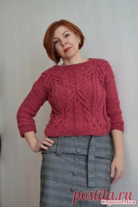 . Два пуловера за зимние каникулы - Вязание - Страна Мам
