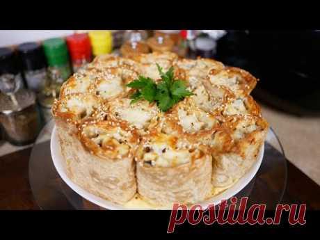 Ленивый пирог - ШАУРМА, цыганка готовит.
