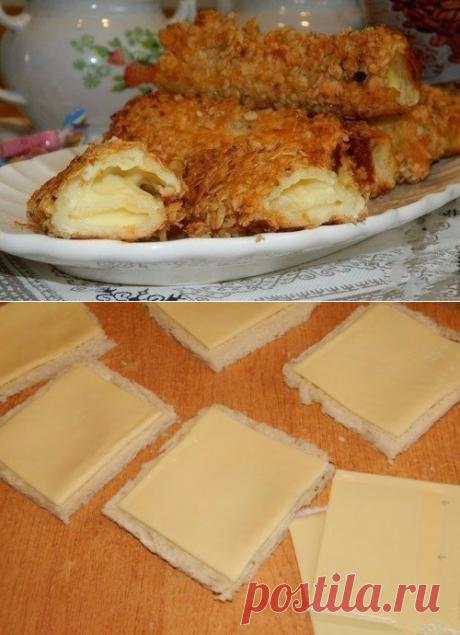 Как приготовить горячие бутерброды-трубочки  - рецепт, ингредиенты и фотографии