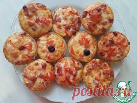 "Тарталетки ""А-ля пицца"" - кулинарный рецепт"
