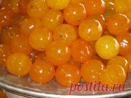 Рецепты варенья из мандарин - Перчинка-хозяюшка