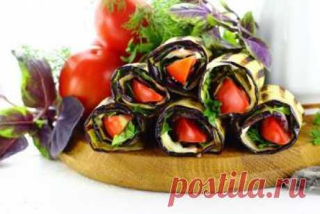 Язычки из баклажанов с чесноком и помидорами: рецепт с фото
