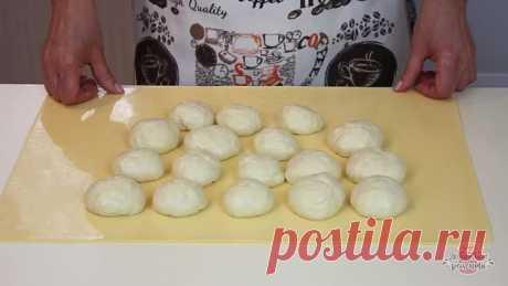 Вкуснейшие жареные пирожки с картошкой (Невероятное тесто!)