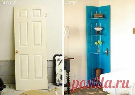 Что можно сделать со старой дверью