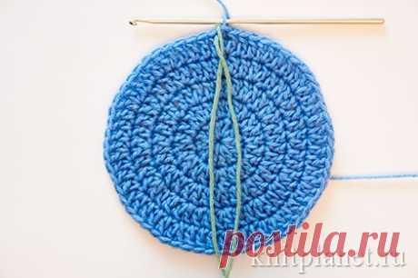 Уроки вязания крючком для начинающих, часть 6. Вязание по кругу. Как вязать по кругу крючком | Планета Вязания