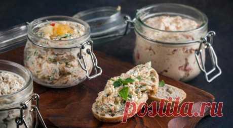 Бутербродные намазки из рыбы - Со Вкусом