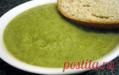 Постный суп-пюре из брокколи / Овощные супы / TVCook: пошаговые рецепты с фото