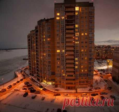 Фотография Вид из моего окна из раздела город №6486342 - фото.сайт - Photosight.ru
