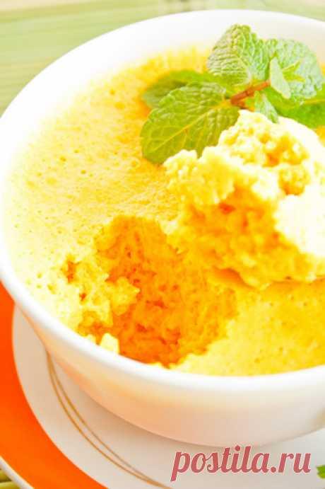 Мусс из тыквы с имбирем - рецепт с фото