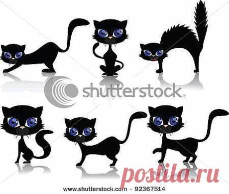 Трафареты кошек! | ЖЕНСКИЙ  МИР