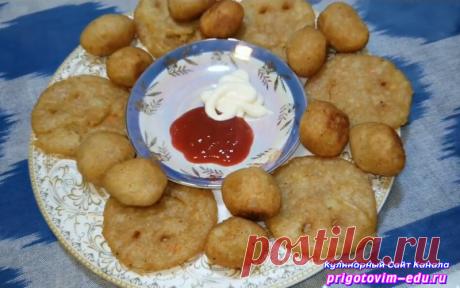 Лепешки из картофельного пюре обжаренные в растительном масле | Простые пошаговые фото рецепты | Яндекс Дзен