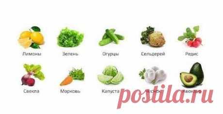 Ощелачивающая еда — источник Вашего здоровья и долголетия!